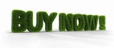 Palavras da grama - compra agora! ilustração royalty free
