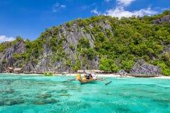 palawan菲律宾 免版税库存照片
