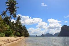 Palawan island landscape Royalty Free Stock Images