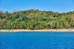 Palawan Philippines beaches Stock Photography