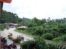 Palawan wyspa, Filipiny przy kurortu terenem Obrazy Royalty Free
