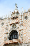 Palazo Ducale exterior Royalty Free Stock Photo