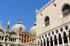 Palazza Ducale and Basilica of Saint Mark, Venice Royalty Free Stock Image