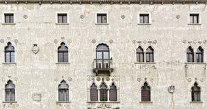 Palazzetto Veneziano - Stary dziejowy budynek w Udine obrazy stock
