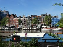Palazzi a Amsterdam Fotografie Stock