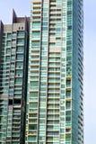 palazzi del distretto del terrazzo di Bangkok   costruzione moderna Fotografia Stock