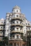 Palazzi del lungomare in Calcutta immagini stock libere da diritti