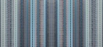 Palazzi multipiani residenziali di Hong Kong fotografia stock