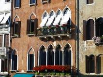Palazzi - Venezia - l'Italia Immagine Stock Libera da Diritti