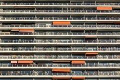 Palazzina di appartamenti Immagine Stock