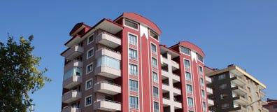 Palazzina di appartamenti Immagini Stock Libere da Diritti