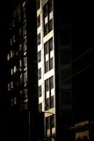 Palazzina di appartamenti al crepuscolo (2) Fotografia Stock Libera da Diritti