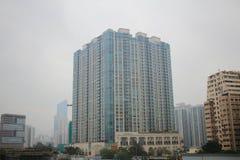 Palazzina di appartamenti alta in Hong Kong Fotografia Stock