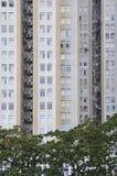 Palazzina di appartamenti di Hong Kong Fotografie Stock Libere da Diritti