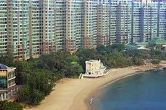 Palazzina di appartamenti a Hong Kong Fotografia Stock