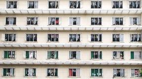Palazzina di appartamenti pubblica Fotografia Stock