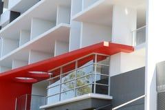 Palazzina di appartamenti residenziale moderna Immagine Stock Libera da Diritti