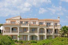 Palazzina di appartamenti spagnola Fotografia Stock