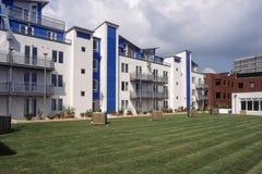 Palazzina di appartamenti di Swindon immagini stock