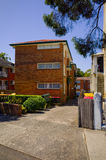 Palazzina di appartamenti, Sydney Australia Immagini Stock
