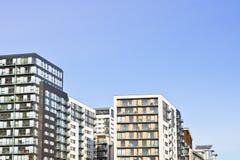 Palazzine di appartamenti Immagine Stock Libera da Diritti