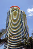 Palazzine di appartamenti di Miami Fotografia Stock