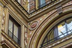 Palazzo圆顶场所S的华丽地被绘的和装饰的门面 免版税图库摄影