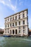 Palazzo垄断重创della加州的`,威尼斯 免版税库存图片