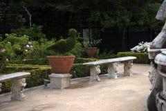 Palazzo多利亚Pamphili的庭院在热那亚意大利 库存图片
