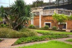 Palazzo多利亚Pamphili的庭院在热那亚意大利 图库摄影