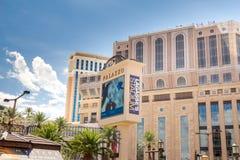 Palazzo旅馆和赌博娱乐场 图库摄影