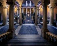 Palazzo比亚恩科 免版税库存照片