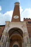 Palazzo锡耶纳#4 库存照片