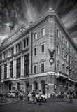 Palazzo πρώην Unione Militare Στοκ φωτογραφία με δικαίωμα ελεύθερης χρήσης