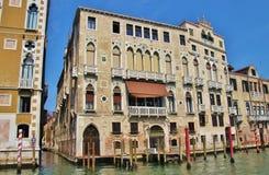 Palazzo στο μεγάλο κανάλι, Βενετία, Ιταλία Στοκ Εικόνες