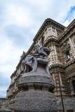 Palazzo правосудия, высший суд Италии в Риме Италии Стоковые Изображения