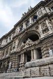 Palazzo правосудия, высший суд Италии в Риме Италии Стоковая Фотография