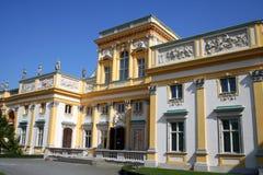 Palazzo 1 di Wilanow Immagini Stock Libere da Diritti
