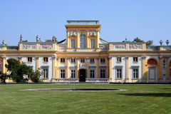 Palazzo 3 di Wilanow Fotografia Stock
