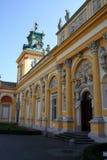 Palazzo 4 di Wilanow fotografie stock