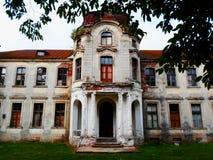 Palazzo abbandonato in Bielorussia Fotografia Stock Libera da Diritti