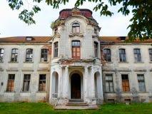 Palazzo abbandonato in Bielorussia Immagine Stock Libera da Diritti