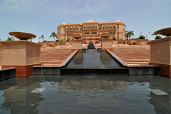 Palazzo Abu Dhabi degli emirati Fotografia Stock