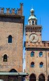 Palazzo Accursio in Bologna, Emilia-Romagna. Italy. Royalty Free Stock Image