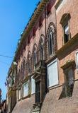 Palazzo Accursio im Bologna, Emilia-Romagna Italien Lizenzfreie Stockfotografie