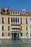 Palazzo al grande canale Immagine Stock