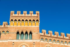 Palazzo Aldobrandeschi στην πλατεία Dante Grosseto, Ιταλία Στοκ φωτογραφίες με δικαίωμα ελεύθερης χρήσης