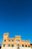 Palazzo Aldobrandeschi in piazza Dante a Grosseto, Italia Fotografia Stock Libera da Diritti