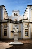 Palazzo Alfieri à Asti Italie Image stock