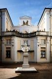 Palazzo Alfieri i Asti Italien Fotografering för Bildbyråer